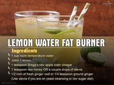 Lemon-Water-Fat-Burner