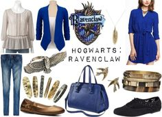 Inspired By: Hogwarts Houses {Ravenclaw}