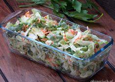 Sałatka gyros - Obżarciuch Food Pictures, Guacamole, Feta, Sweet Potato, Potato Salad, Cookie Recipes, Food Porn, Easy Meals, Healthy Eating