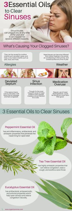 Sinus Medication, How To Clear Sinuses, Sinus Relief, Chest Congestion, Sinus Infection, Health Advice, Health Care, Tips, Essential Oils