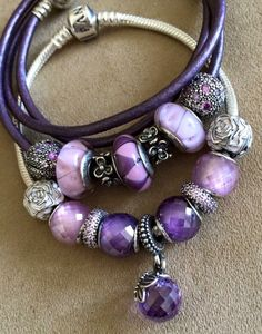#Purple #Bracelet #Jwellery Kasey Bella Pepper Fox ✌ ▄▄▄Click…
