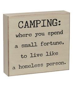 HA! Still love it... ⛺️                                                                                                                                                                                 More