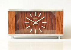 Precious JUNGHANS Zodiac Desk CLOCK - ATO-Mat Mid Century Modern ...