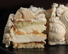 Sweet Recipes, Cake Recipes, Meringue Cake, Slab Pie, Almond Cakes, Hand Pies, Sin Gluten, Cooking Time, Cake Decorating