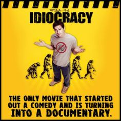 'Idiocracy' writer: I never expected my movie 'to become a documentary' http://thehill.com/blogs/in-the-know/in-the-know/270642-idiocracy-writer-i-never-expected-my-movie-to-become-a Avril Lavigne -...