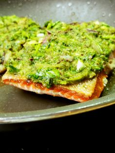 In homage to the classic Jamaican Green Seasoning, I present Green Sauce Salmon, a flavorful dish lush with herbaceous cilantro, ginger, lime and thyme. #salmonrecipes #dinnerideas #keto #whole30 #pescatarian #dinner #lunch
