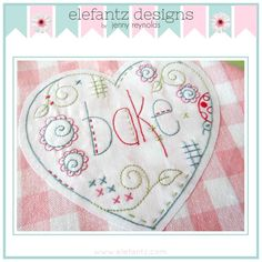 """Love to Bake"" PDF embroidery pattern"