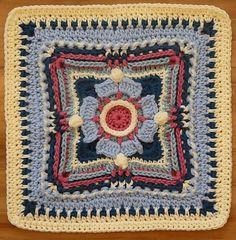 Link Blast: 25 Free Crochet Patterns for Granny Squares Granny Square Pattern Free, Granny Square Blanket, Granny Square Crochet Pattern, Afghan Crochet Patterns, Crochet Squares, Granny Squares, Crochet Ripple, Crochet Mandala, Tapestry Crochet