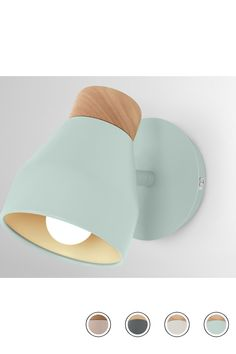 MADE Wall Light, Duck Egg Blue. NEW Wood. Albert Wall Lamps Collection from MADE.COM... Wall Lamps, Wall Lights, Inside Job, Duck Egg Blue, Bedside Lamp, Muted Colors, Wood, Delivery, Collection