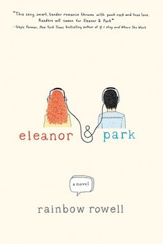 Eleanor and Park - Rainbow Rowell. Yet another book by Rainbow which left me craving for more at the end. This book is at the top, with Fangirl, as my favourite Rainbow Rowell books. Books You Should Read, Books To Read, Ya Books, Great Books, Comic Books, Reading Lists, Book Lists, Happy Reading, Free Reading