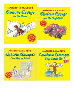 Curious George Paperback Fall Set