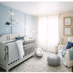 Such a sweet nursery by @alsters
