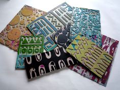 printing with Styrofoam plates - Google Search