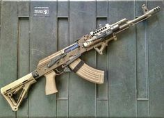 AK47 Loading that magazine is a pain! Get your Magazine speedloader today! http://www.amazon.com/shops/raeind