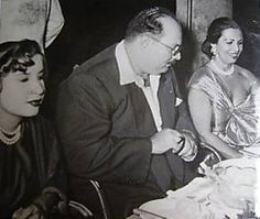 TM King Farouk and Queen Narriman in exile, 1952