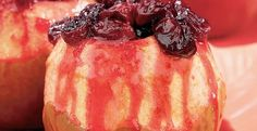 Baked Apples with Cranberries fresh fruit recipe from Stemilt