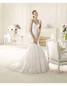 Spitze Elegant & Luxuriös Herbst Brautkleider 2014