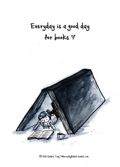 Every day is a good day for #books