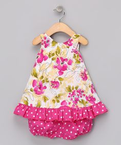 Pink Lily Swing Top & Bloomers - Infant