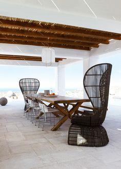 Mykonos home. Photo: Gaelle Le Boulicaut | Story: Belle