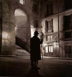Fotógrafo en el Arco de Cuchilleros.