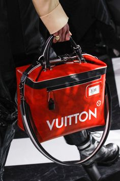 Louis Vuitton Fall 2016 RTW red and black handbag