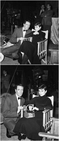 Audrey e Mel Ferrer, 1954