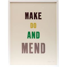 Make Do And Mend - Edition 3