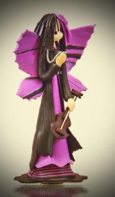Music Fairy by fairiesbynuria on Etsy