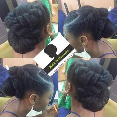 Our Beautiful Brides (and bridesmaids) Slaying Their Natural Tresses! African Hairstyles, Up Hairstyles, Braided Hairstyles, Wedding Hairstyles, Natural Hairstyles, Protective Hairstyles, Formal Hairstyles, Protective Styles, Hairstyle Ideas