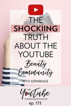 The shocking truth about the YouTube beauty community with Xsparkage #YouTube #YouTubeBeauty #YouTubechannel Content Marketing Strategy, Social Media Marketing, Digital Marketing, Top Beauty Youtubers, Free Facebook, Social Media Influencer, Business Tips, Creative Business, Blogging For Beginners