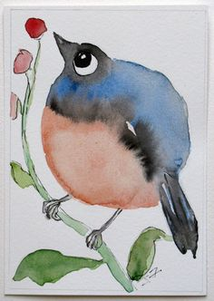 He was very fond of round shapes, just like this round bird. Fernando did not only enjoy drawing round shapes, but he also frequently painted pictures of outdoor scenes just like a bird flies outdoors.
