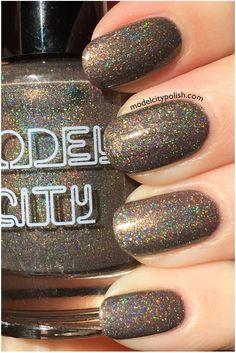 Dark Roast Nail Polish by ModelCityPolish on Etsy