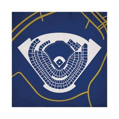 "Miller Park $34.99   Product Details — Printed on High Quality 105# Stardream Pearlescent Paper  Colors Multi MaterialsHigh Quality 105# Stardream Pearlescent Measurements12""L x 12""W Origin United States"