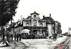1905, Tramhalt, Emmasingel/ Parallelweg