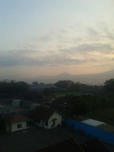 View Magelang from my window