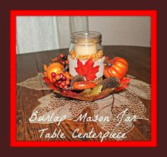 Thanksgiving Centerpiece Craft for the Holiday Challenged - My Personal Accent