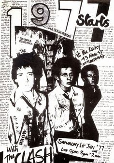 The Clash New Year's Day '77 - YouTube