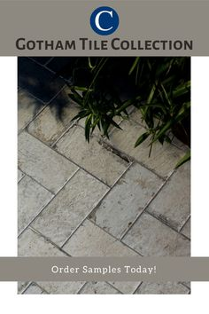 An outdoor patio and brick go together like peanut butter and jelly. However, the cost of material and labor to install this natural brick can be high. With Cancos's Gotham collection, you can achieve the same brick-look for less.  Visit our website and order your sample today! Outdoor Tiles, Outdoor Spaces, Brick Look Tile, Brick Flooring, Porcelain Tile, Natural Looks, Gotham, Patio, Canning