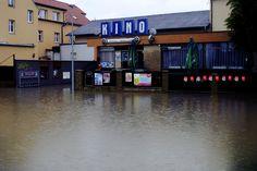 Kino Modrany Under the Water (Prague Floods in 2013)
