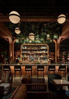 Bar Lounge, Lounge Design, Design Design, Loft Design, Chair Design, Design Ideas, Bar Interior Design, Restaurant Interior Design, Bar 25