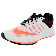 Nike Women's Air Zoom Elite 7 /Brightt Mango/Black Running Shoe