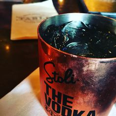 The Table restaurant in Baton Rouge - Moscow Mule