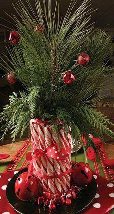 Christmas - Candy Cane Vase
