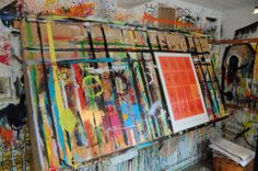 Workplace Poul Pava Workplace, Illustration, Painting, Art, Art Background, Painting Art, Kunst, Paintings, Illustrations