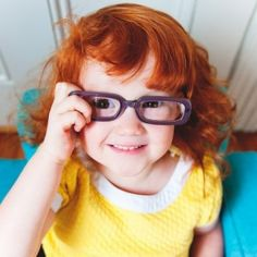 Smarty pants. I can see my little girl looking some ting like this