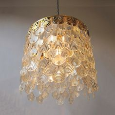 Gold and clear Lucite vintage Waterfall light / by MYpetitVINTAGE