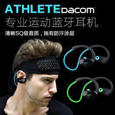 DACOM sport 4.0 ucho zestaw słuchawkowy Bluetooth sobie jogging obustronne bezprzewodowej Bluetooth zestaw słuchawkowy douszny mini - BuyWithAgents