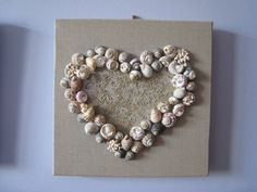 Cadre sable et coquillages