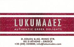 Lukumades Athens Greece, Personalized Items, Cards, Decor, Decoration, Maps, Decorating, Playing Cards, Deco